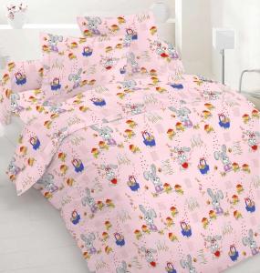 Детский постельный комплект ТМ Nostra бязь Gold 10-0010 Pink
