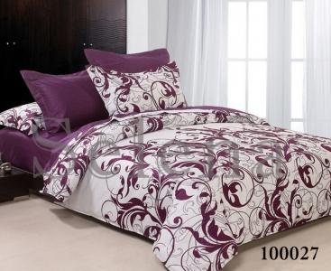 Постельное белье ТМ Selena бязь Вензель Фиолетовый 100027