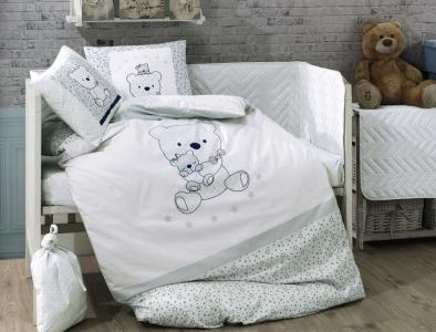 Детский постельный комплект ТМ Hobby Poplin Bonita мятный