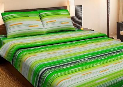 Постельное бельё ранфорс ТМ Lotus Metropolis зеленый