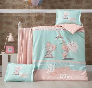 Детский постельный комплект ТМ Luoca Patisca Kity