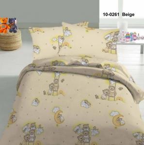 Детский постельный комплект ТМ Nostra бязь Gold 10-0261 Beige