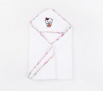 Полотенце-уголок для купания ТМ Lotus Kitty B 03