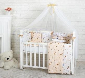 Детский набор из 7 предметов ТМ Маленькая Соня Baby Design Stars