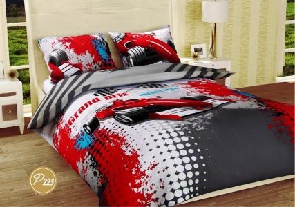 Подростковое постельное белье ТМ Лелека Текстиль ранфорс R223