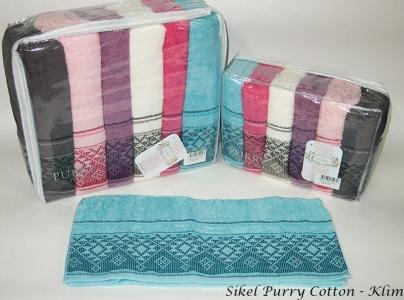 Набор полотенец из 6 штук ТМ Sikel Purry Cotton Klim