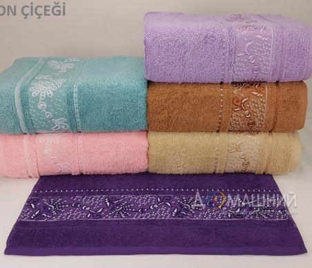 Набор полотенец из 6 штук TМ Yagmur Cotton JAPON-CICEGI
