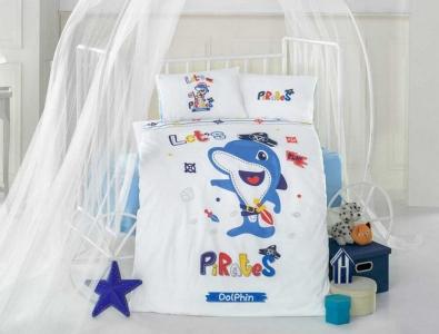 Детский постельный комплект ТМ Clasy Дельфин
