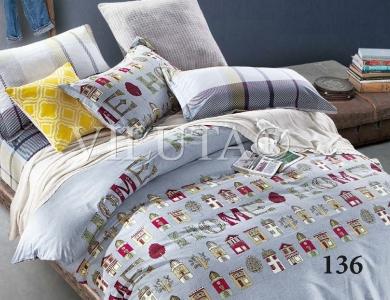 Подростковое постельное бельё ТМ Вилюта сатин-твил 136