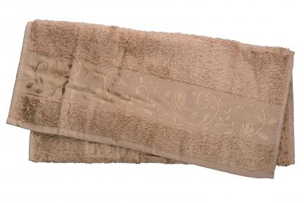 Полотенце ТМ Hanibaba Bamboo светло-бежевый