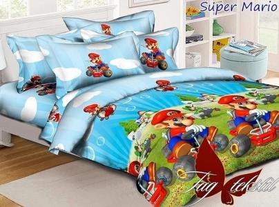Постельное белье ТМ TAG ранфорс Super Mario