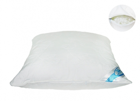 Подушка ТМ Leleka-Textile Экстра стёганная белая 50х50