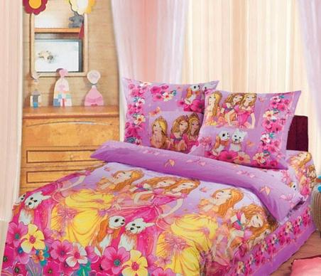 Подростковый постельный комплект ТМ ТOP Dreams Красавицы