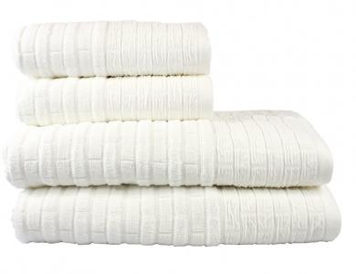 Полотенце махровое ТМ Hobby Daisy белое