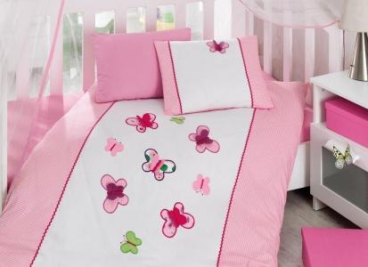 Детский постельный комплект ТМ Cotton Box ранфорс Kelebek