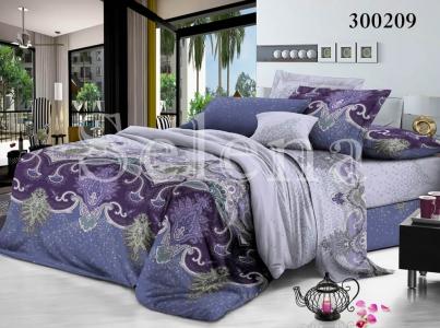 Постельное белье ТМ Selena сатин Прикосновение ночи