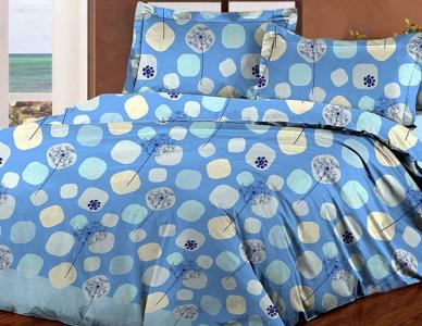 Постельное белье ТМ Novita бязь 40-0607 blue