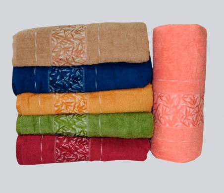 Набор полотенец 6 шт из хлопка ТМ Gulcan Cotton Akasia