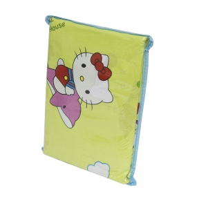 Детский постельный комплект ТМ Leleka-Textile ранфорс Китти салатовый
