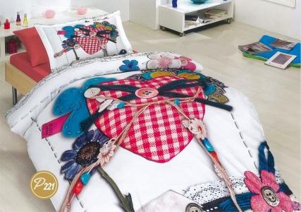 Подростковое постельное белье ТМ Лелека Текстиль ранфорс R221