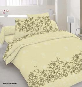 Постельное белье ТМ Nostra сатин 40-0480 Soft Khaki