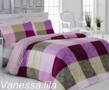 Постельное белье ТМ Altinbasak сатин-люкс Vanessa Lila евро-размер