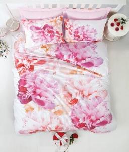 Постельное бельё ТМ Cotton Box ранфорс Dreamy Pembe евро-размер