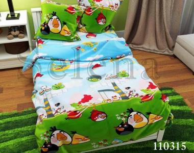 Подростковое постельное белье ТМ Selena бязь Angry Birds 110315
