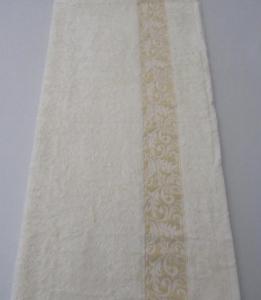 Полотенце ТМ Arya бамбук Aleda кремовое 70х140