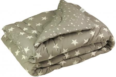 Одеяло зимнее шерстяное ТМ Руно Grey Star