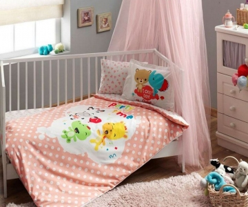 Детский постельный комплект ТМ TAС Fisher Price Baby Girl