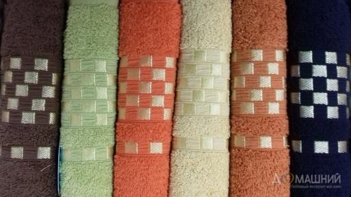 Набор махровых полотенец Turkiz Akna 6 штук