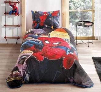 Покрывало с наволочкой ТМ TAC Disney Spiderman in City 160х220