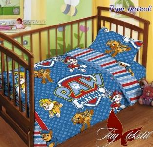 Детский постельный комплект ТМ TAG Paw patrol