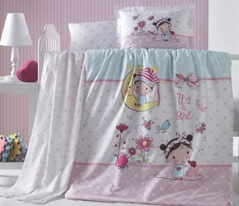 Детский постельный комплект ТМ Luoca Patisca Bellini