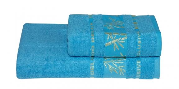 Полотенце ТМ Gursan Bamboo бирюзовое