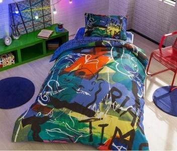 Подростковый постельный комплект ТМ TAС Graffiti Face