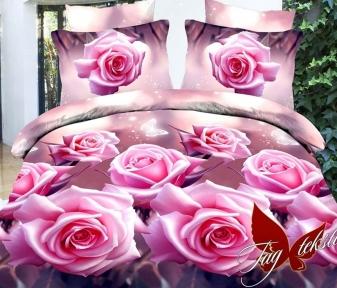 Постельное бельё ТМ TAG ранфорс Розовые розы