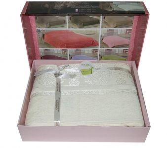 Простынь бамбуковая ТМ Cestepe Cream 200х220