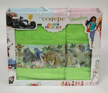 Набор полотенец из 2 штук ТМ Cestepe Bamboo Junior 08