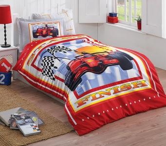Подростковый постельный комплект ТМ Halley Home поликоттон