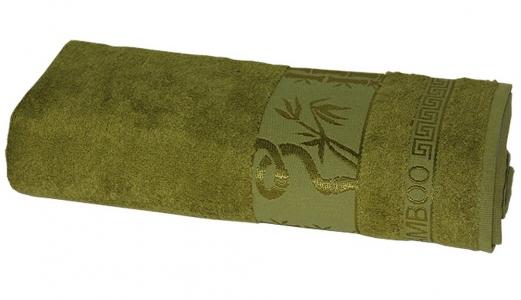 Полотенце ТМ Gursan Bamboo dark green