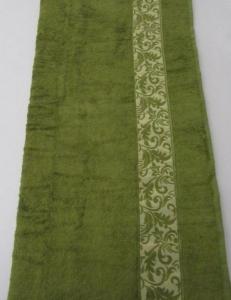 Полотенце ТМ Arya бамбук Aleda зеленое 70х140