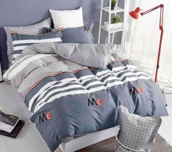 Постельное белье сатин ТМ Bella Villa B-0114 евро-размер