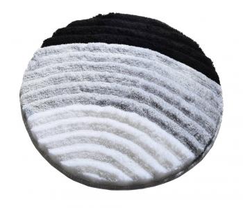 Коврик прорезиненный для ванной ТМ Chilai Home Well Gri 90x90