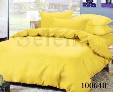 Постельное белье ТМ Selena бязь Желтый 100640