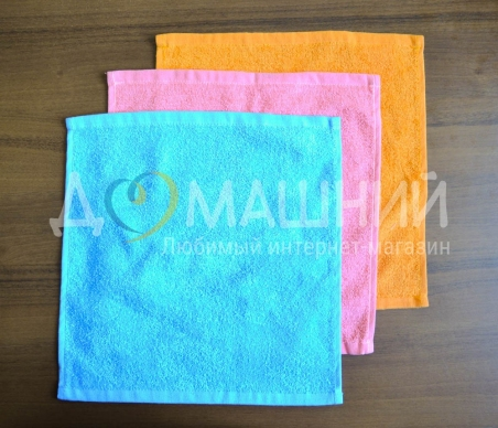 Махровые салфеточки для рук
