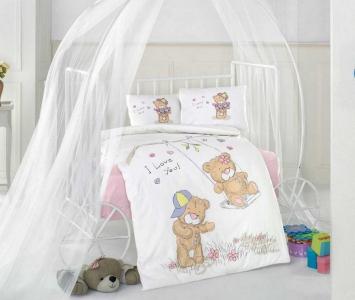 Детский постельный комплект ТМ Clasy Качели для девочек