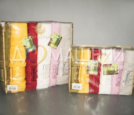 Набор полотенец из хлопка ТМ Philippus Bamboo (bamboo towel E369)