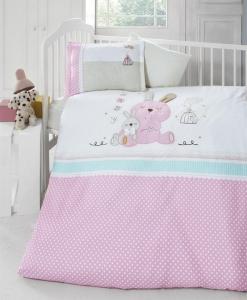 Детский постельный комплект с вышивкой ТМ Luoca Patisca Emmy